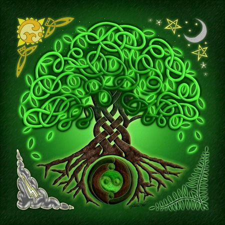 Celtic Tree of life  | Pantha - Wanderer, seeker of knowledge