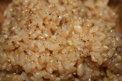 brown rice risotto - plain - reduced